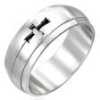stainless steel spinner ring SRJ2434