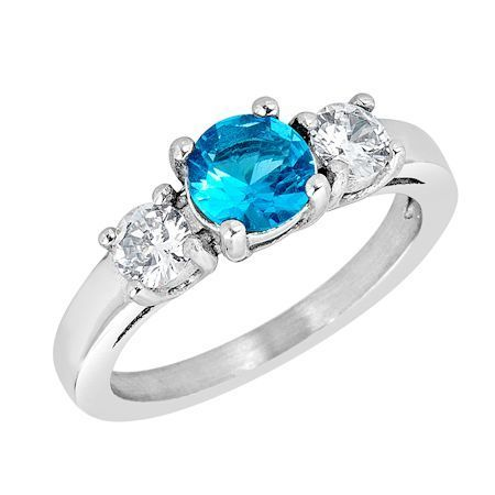 ZRJ4150 December CZ Birthstone Ring